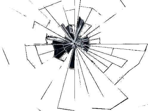 cracked glass long tail - photo #17